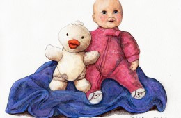 """""""Baby, Ducky, Blankie"""" for Ruby"""