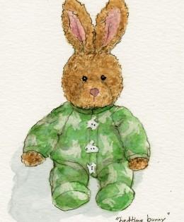 """Bedtime Bunny"" for Harris"