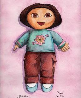 """Baby (aka Dora)"" for Alia"