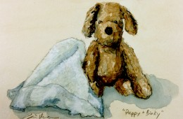 """Puppy and Binky"" for Nicholas"