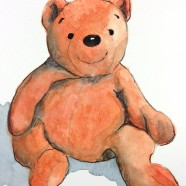 """Orange Teddy"" for LeAnn"