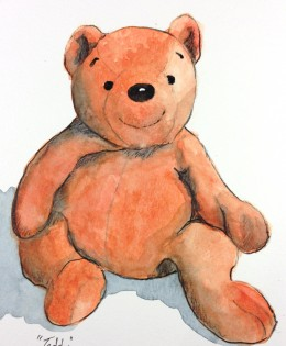 """Orange Teddy"" for LeAnn"