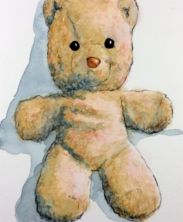 """Pink Teddy"" for Amelia"
