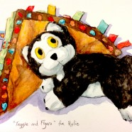 """Taggie and Figaro"" for Rylie"